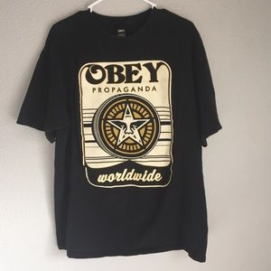 Obey Tops - 👀OBEY GRAPHIC TEE🤪
